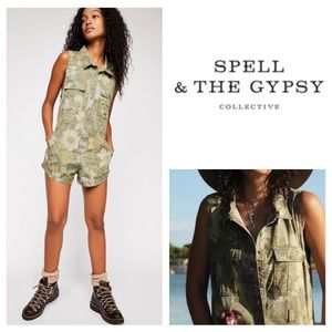 🆕Spell & The Gypsy Collective Eden Romper.  NWOT.